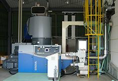 生産工程で発生する廃プラスチックはボイラー・発電機などの燃料としてリサイクル。